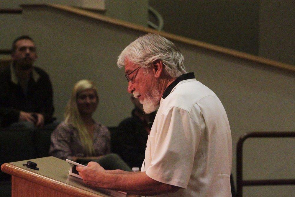 Influential poet B.H. Fairchild inspires students