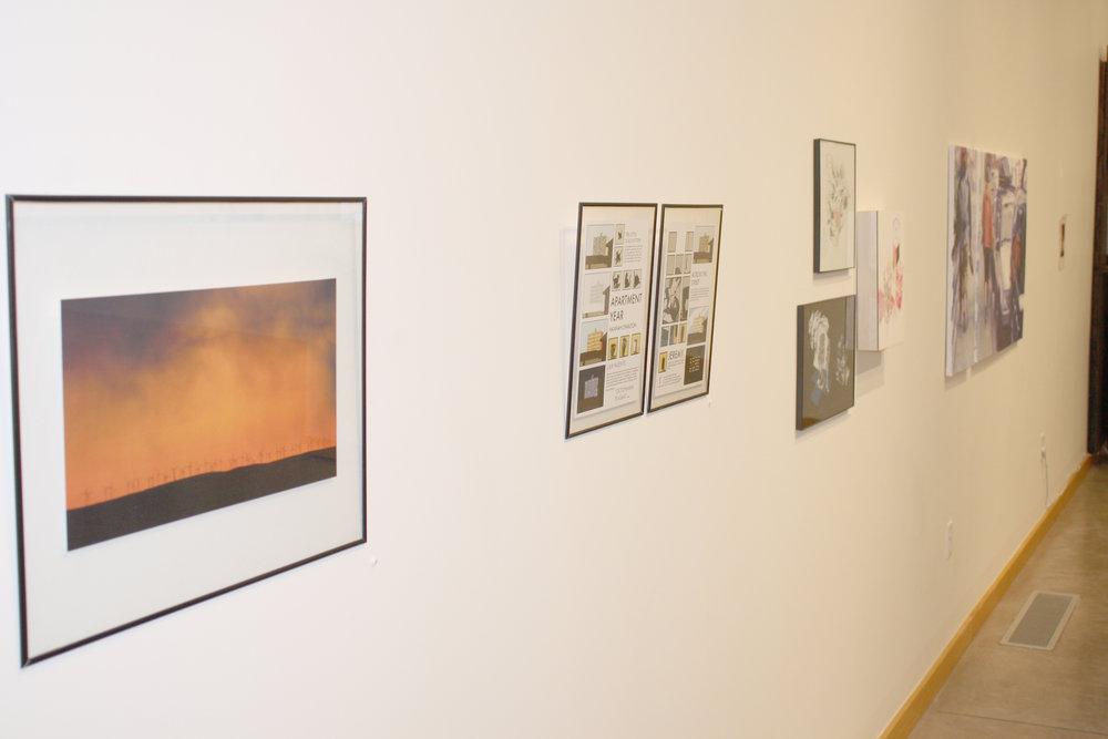 Art show gives senior majors gallery opportunity