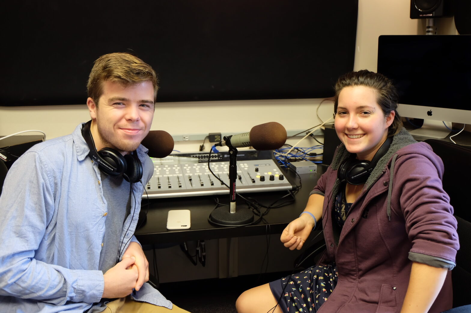 Students fight for clean air on the airwaves
