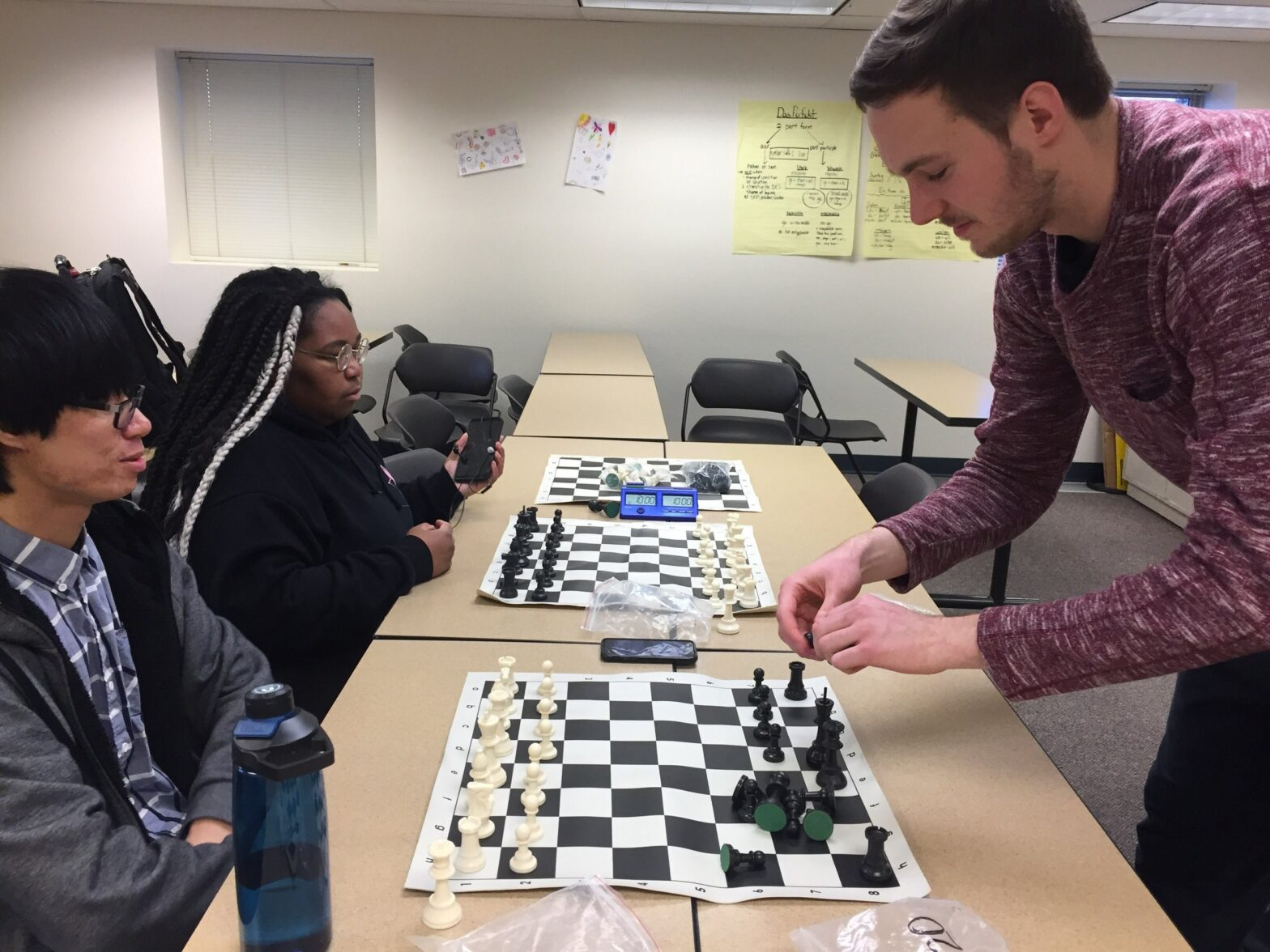 Chess Club charter: training minds outside of school
