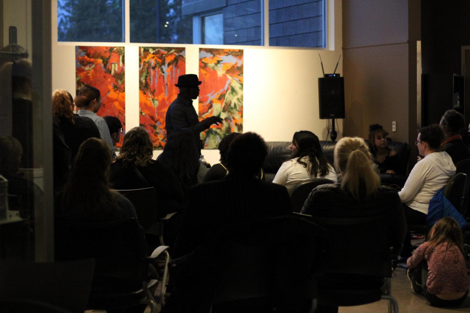 BSU and Umoja host black art showcase of artists across Spokane