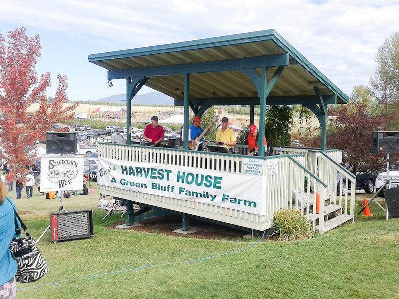 Green Bluff celebrates harvest