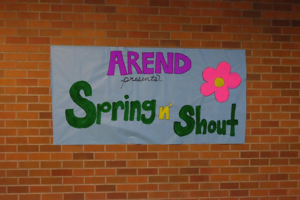 Arend Hall Spring and Shout